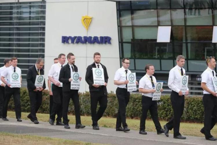 Ryanair snizio procjene godišnje dobiti zbog štrajkova