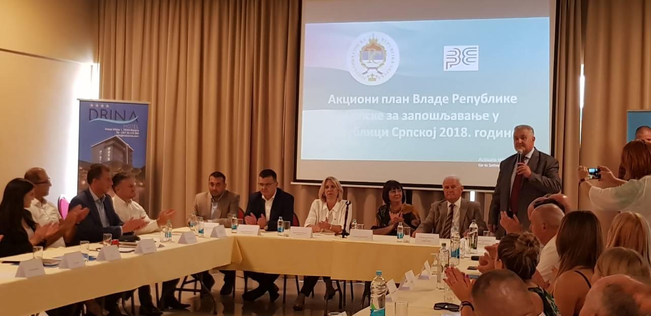 Potpisani ugovori: 1,7 miliona maraka za zapošljavanje u Bijeljini