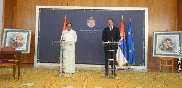 Vučić je pozvao indijske investitore da ulažu u Srbiju
