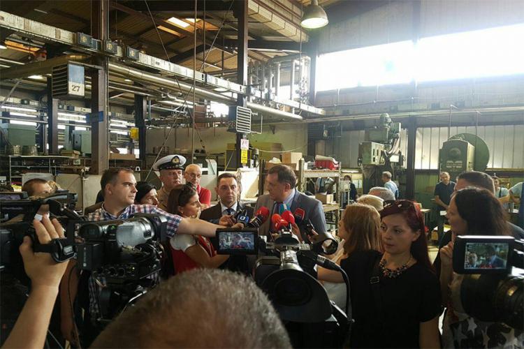 Dodik i Vulin obišli bijeljinskog 'Orla'