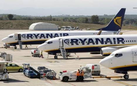 """Ryanair"" u zimskoj sezoni smanjuje broj letova iz Niša do Dizeldorfa"