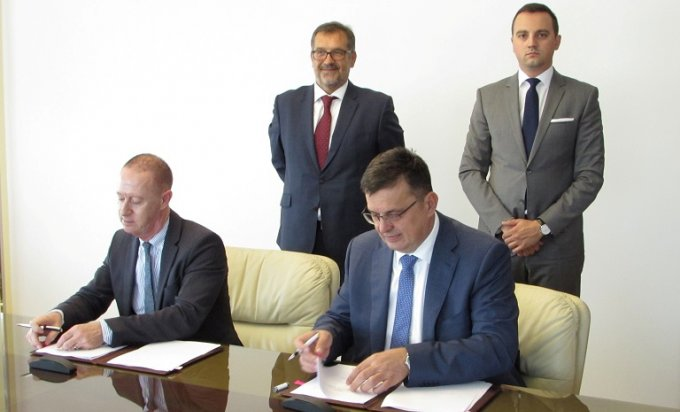 """Potpisani ugovori o podršci zajmu za """"Auto-puteve Srpske"""""""