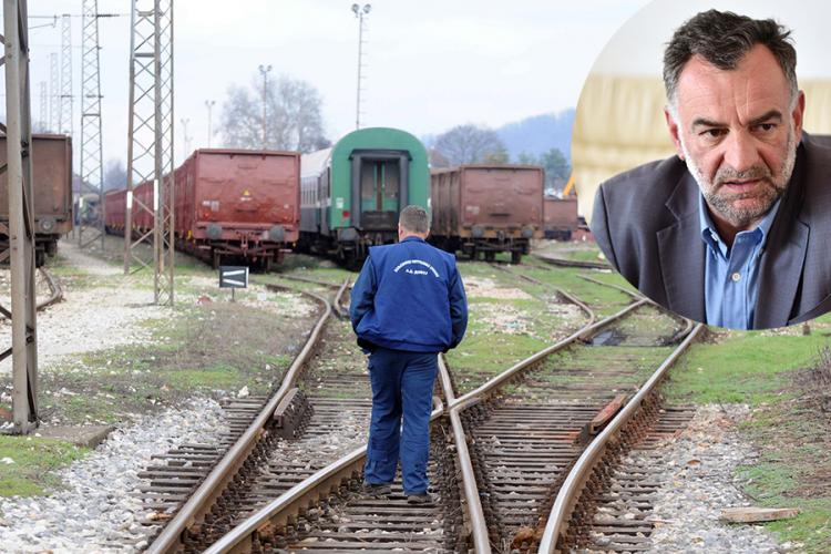 """Savanović ostavlja """"Željeznice RS"""" u minusu od 119 miliona KM"""