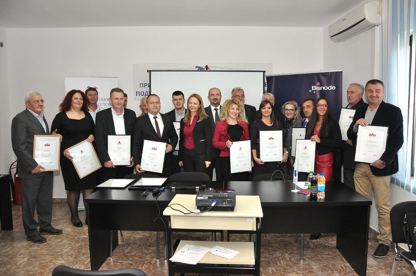 Bonitetno izvrsne kompanije Bijeljinske regije