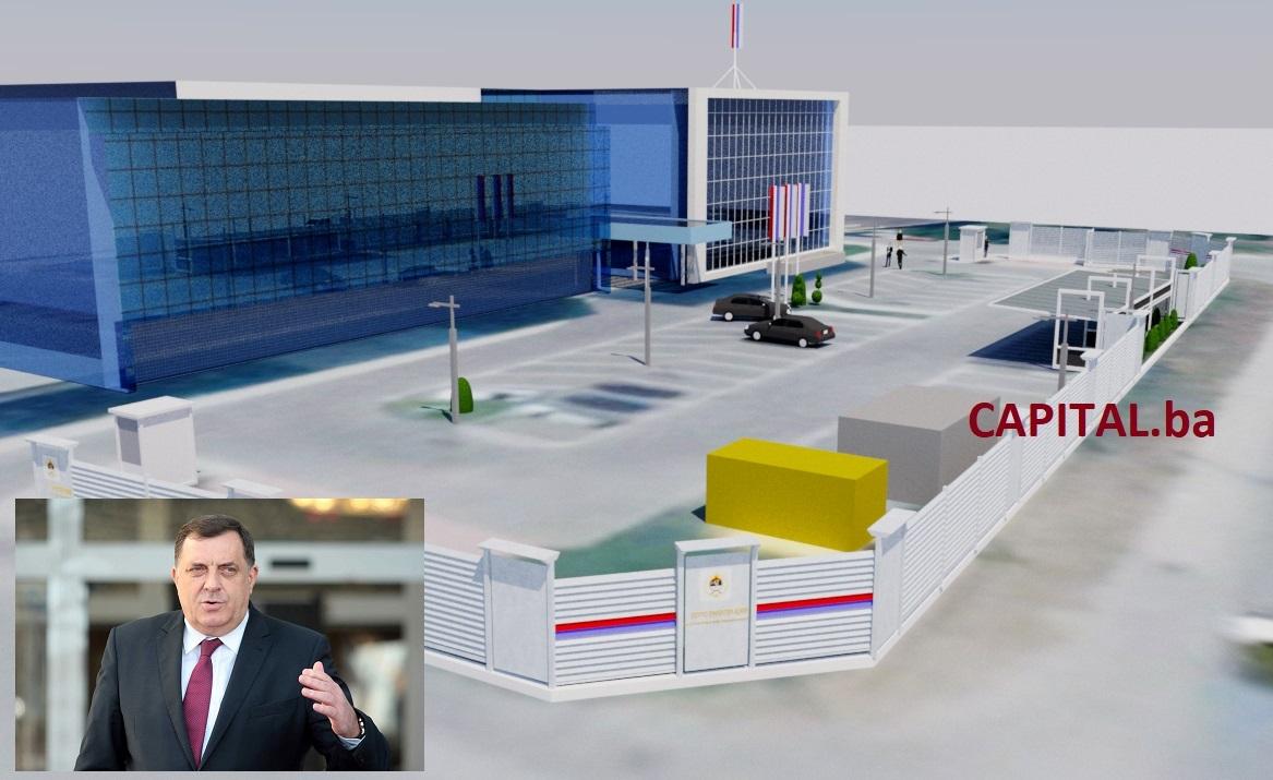 Dodik: Zid zbog bezbjednosti i sastanaka sa državnicima