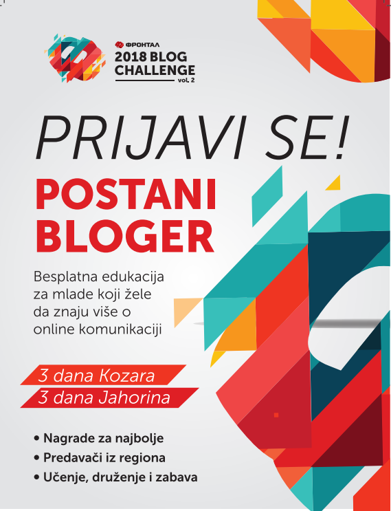 Počinje Frontal Blog Challenge vol.2