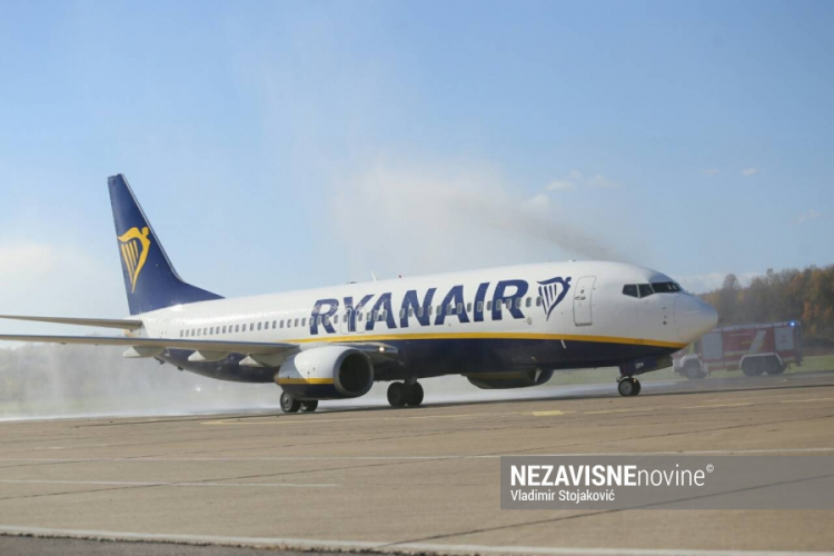 Na banjalučki aerodrom sletio prvi avion Ryanaira