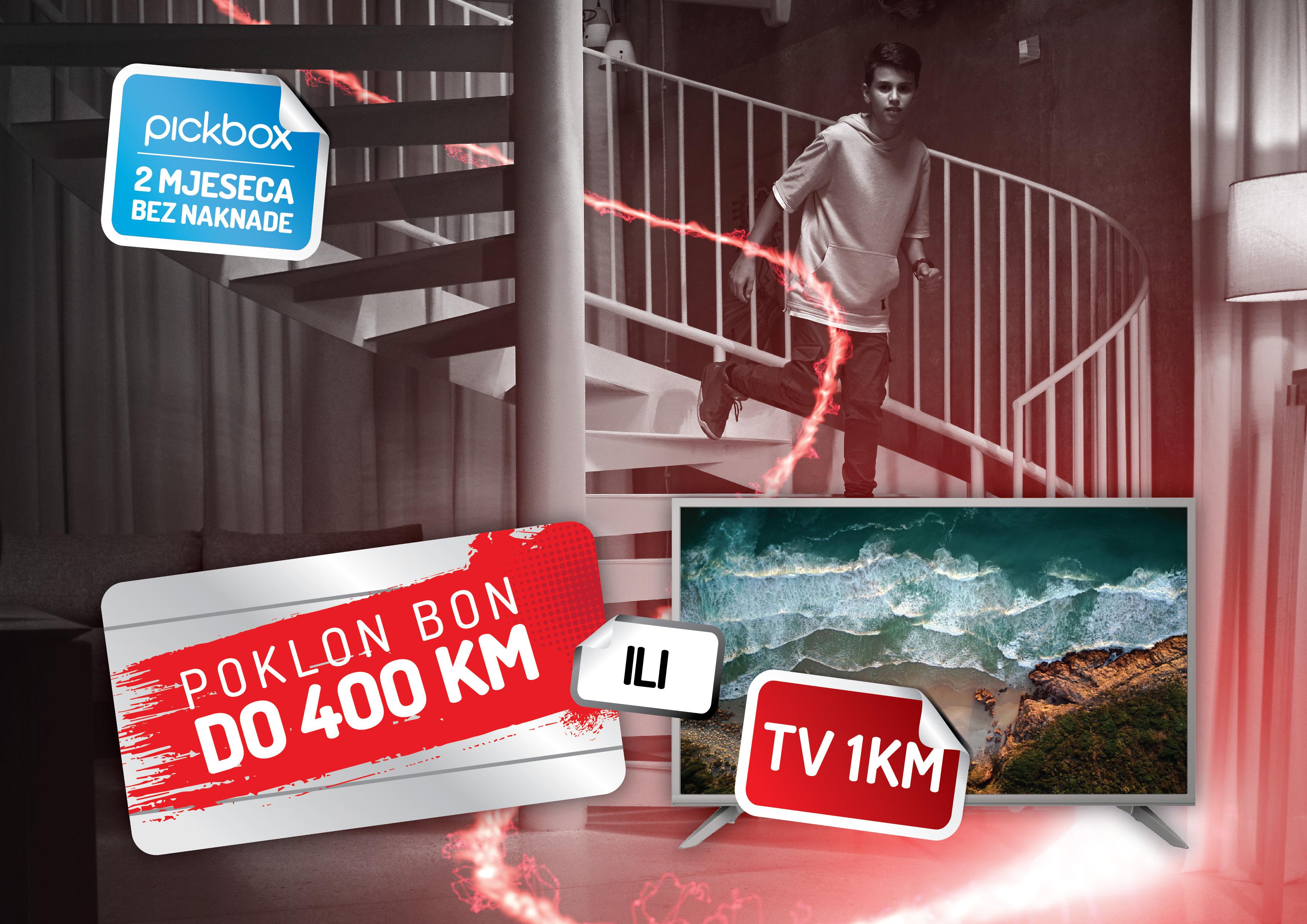 Nova ponuda uz m:tel TV Pakete – poklon bon ili TV uređaj