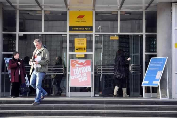 Pošte Republike Srpske u minusu od 2,1 milion KM