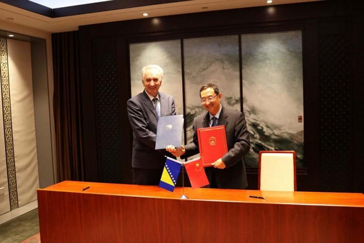 Šarović sa Šugangom potpisao Memorandum za unapređenje turizma