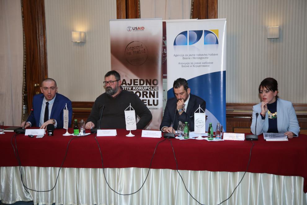 Predstavljeni dometi borbe protiv korupcije u sistemu javnih nabavki
