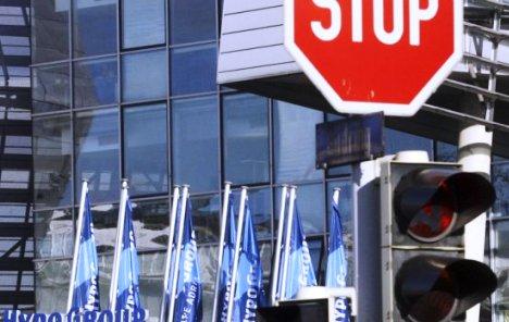 Prodata zgrada glavnog sjedišta Hypo Alpe-Adria Banke u Klagenfurtu