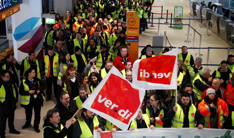 Počeo jednodnevni štrajk radnika obezbjeđenja