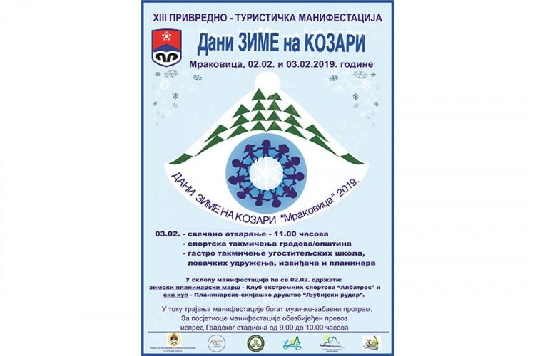 """""""Dani zime na Kozari """" 2. i 3. februara"""