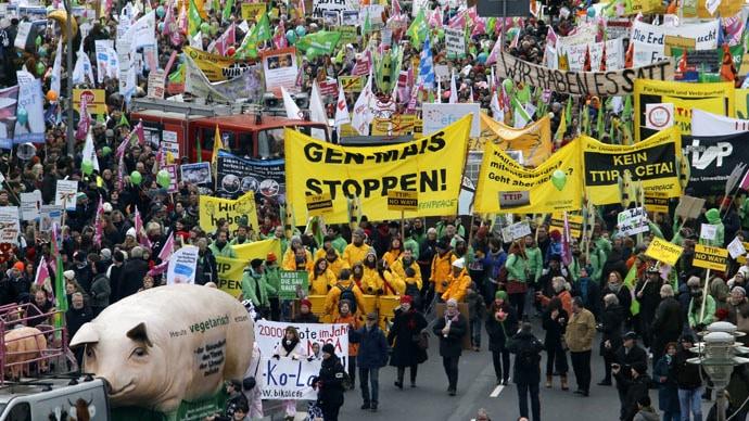 Njemački poljoprivrednici protestovali u Berlinu