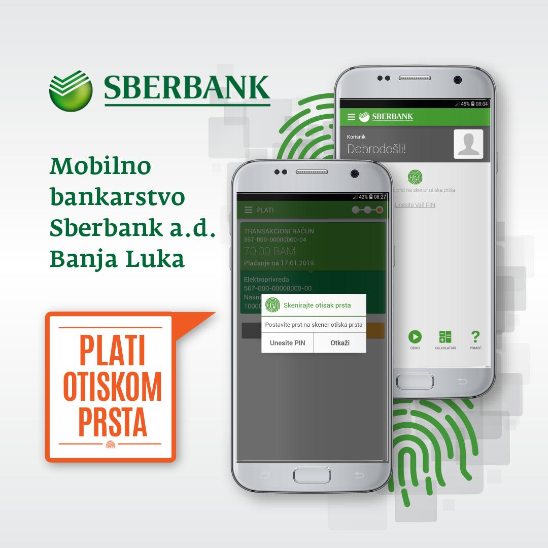 Sberbank Banja Luka poboljšala aplikaciju Mobilnog bankarstva
