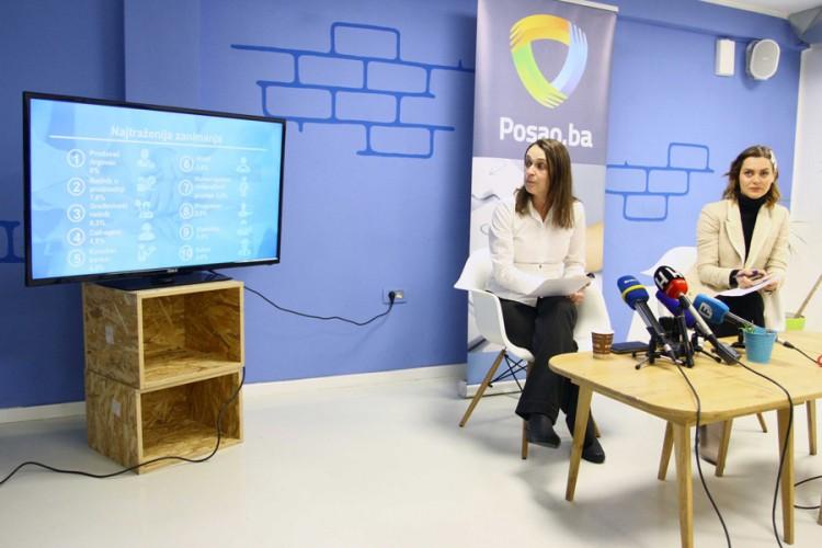 Povećana potražnja za radnicima u BiH: Zidari traženiji od programera