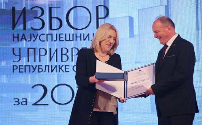 """""""Alumina"""" iz Zvornika najuspješnije veliko preduzeće u Srpskoj"""
