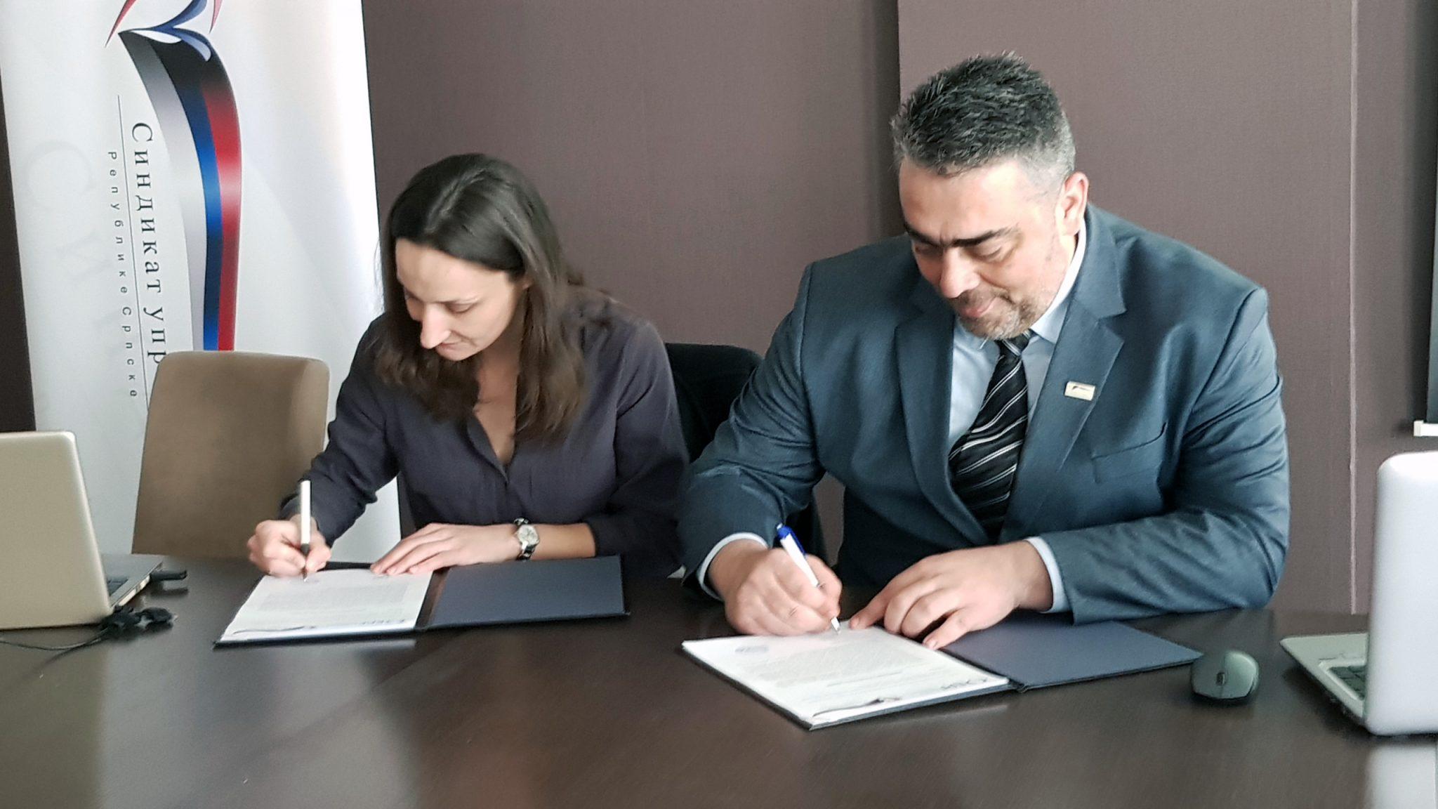 Sindikat uprave RS potpisao memorandum s penzijskim fondom