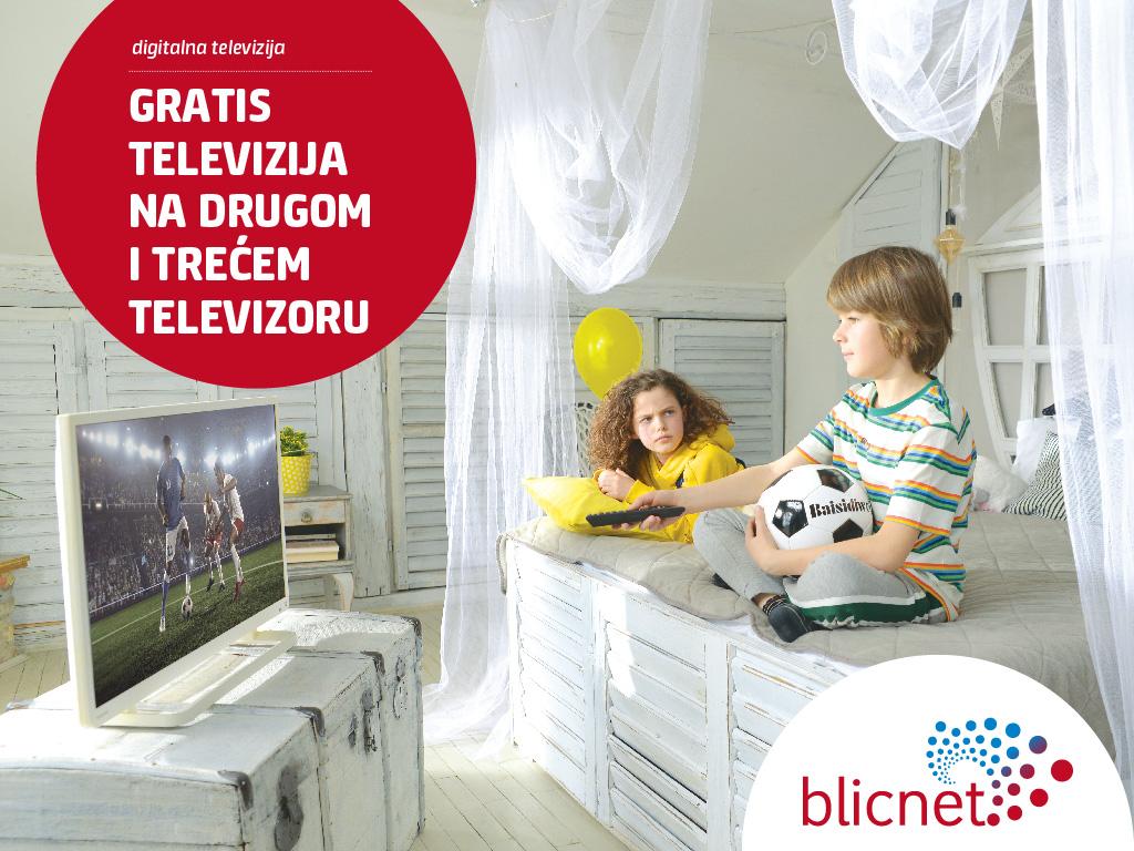 Specijalna ponuda Blicneta za uslugu digitalne televizije