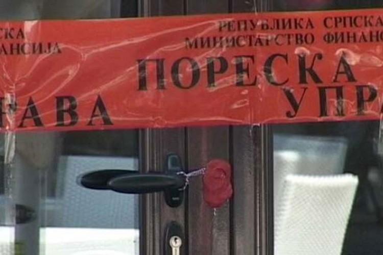 Zbog neizdavanja računa zapečaćeno 150 radnji u Srpskoj