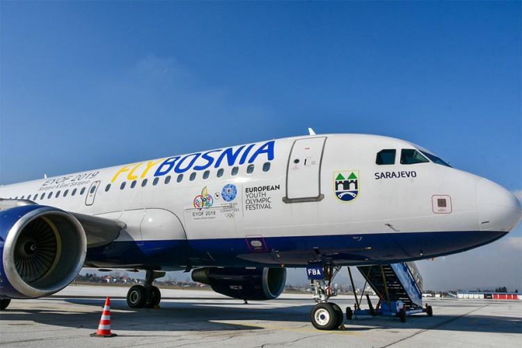 FlyBosnia razmatra preseljenje iz Sarajeva na aerodrome u Tuzlu i Mostar