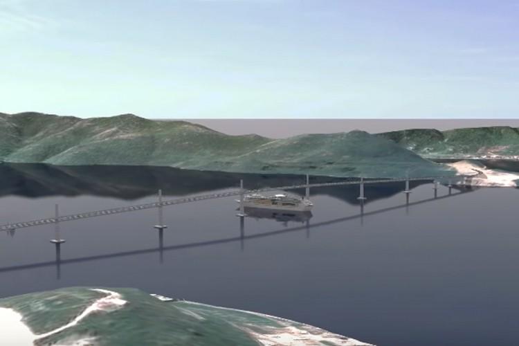 Pogledajte kako će izgledati Pelješki most i pristupni putevi