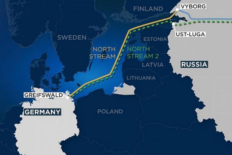 """Uklonjena posljednja prepreka za """"Sjeverni tok 2"""", Danska dala dozvolu"""