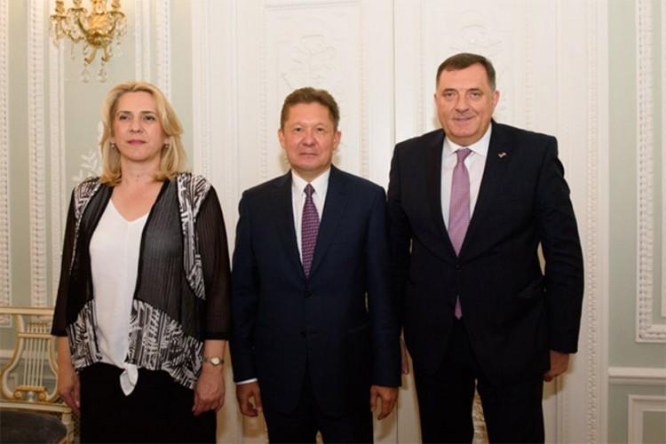 Dodik i Cvijanović: Avionski povezati Srpsku i Rusiju