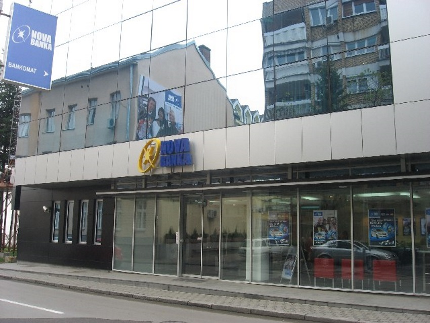 Kvartalna dobit Nove banke porasla na 4,3 miliona KM