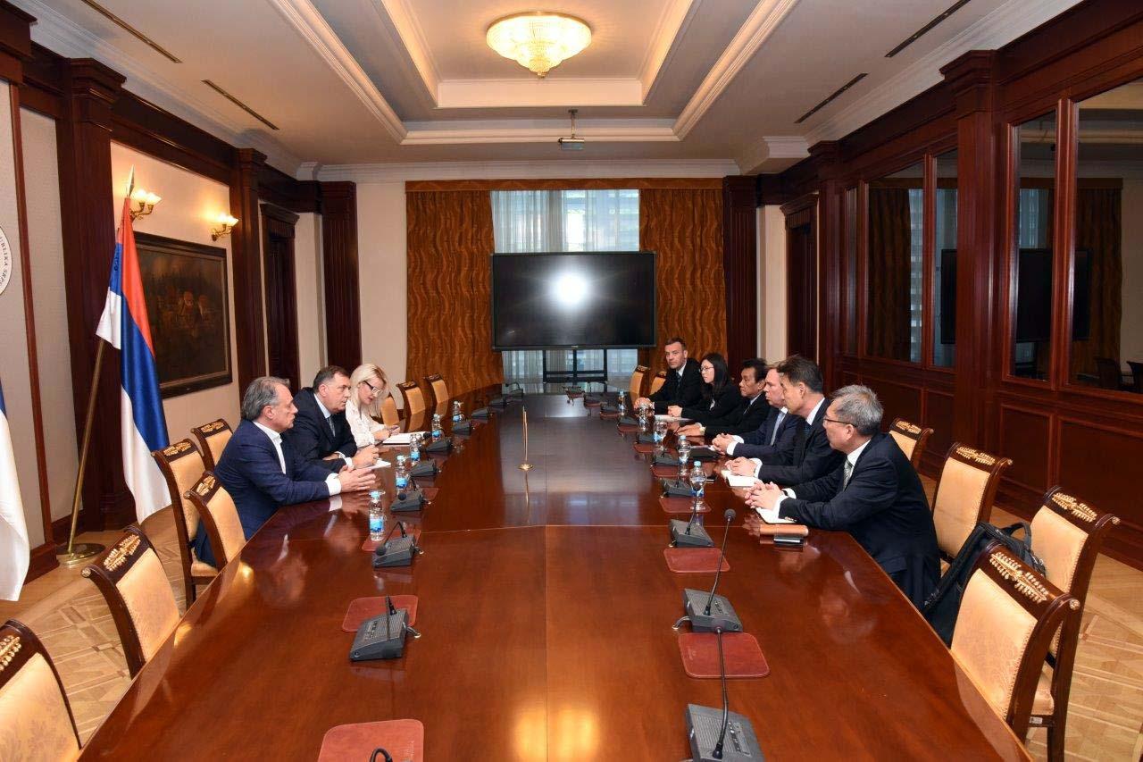 """Dodik pokušava ublažiti bijes Kineza zbog HE """"Dabar"""""""