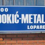 "Proširenje proizvodnog kapaciteta firme ""Đokić metal"""