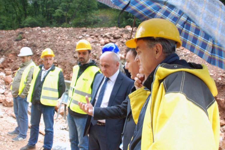 """Đokić: Puštanje u rad postrojenja hidrocentrale """"Miljacka"""" već u novembru"""
