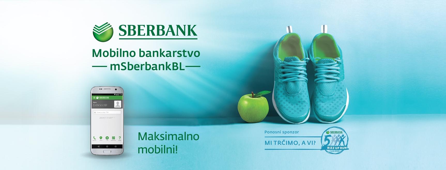 "Sberbank Banja Luka ponosni sponzor timske trke ""Sberbank 5K BIZZ UP Run"""