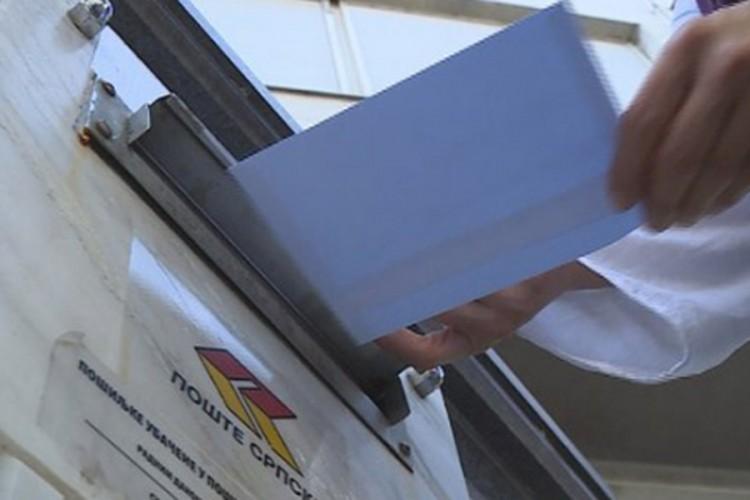 Dnevno stiže više od 20.000 koverata, prvo izvlačenje 22. septembra
