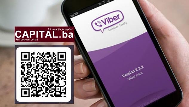 Postanite član Viber zajednice CAPITAL.ba!