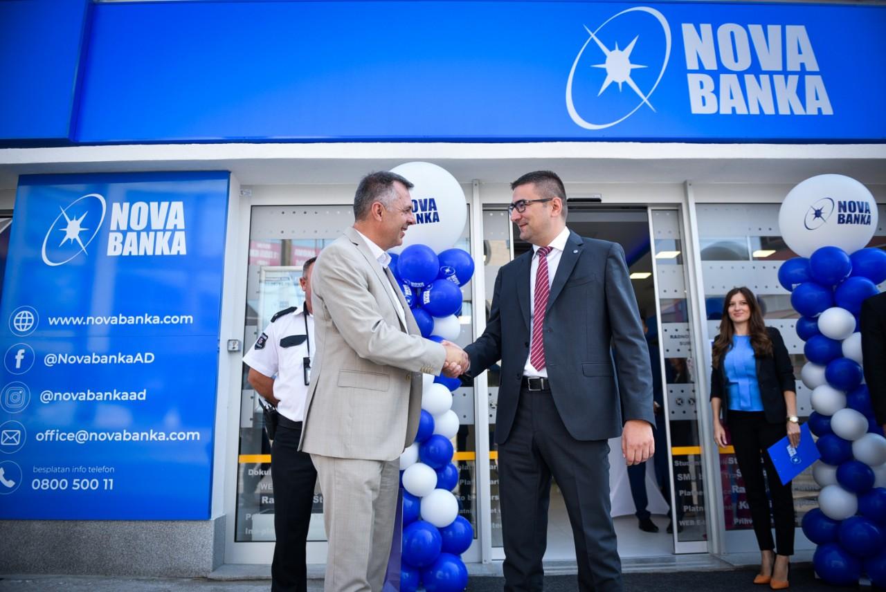 Otvorena petnaesta poslovnica Nove banke u Banjaluci