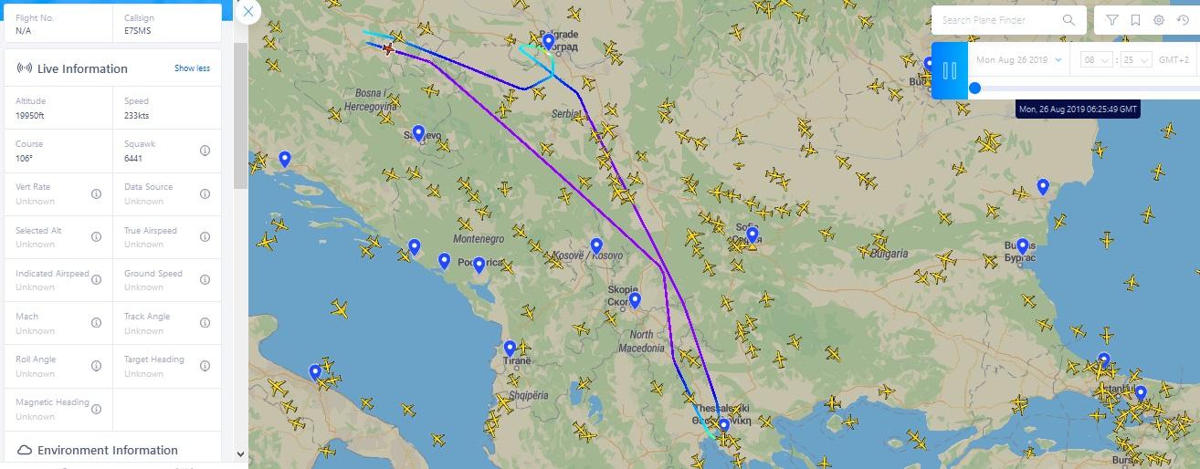 višković avion