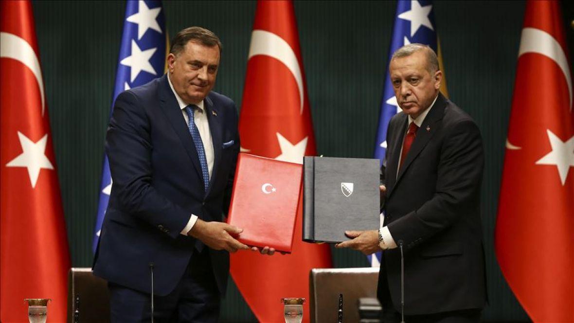 Sporazum kojeg su potpisali Dodik i Erdogan nakon pet mjeseci stigao u Parlament BiH