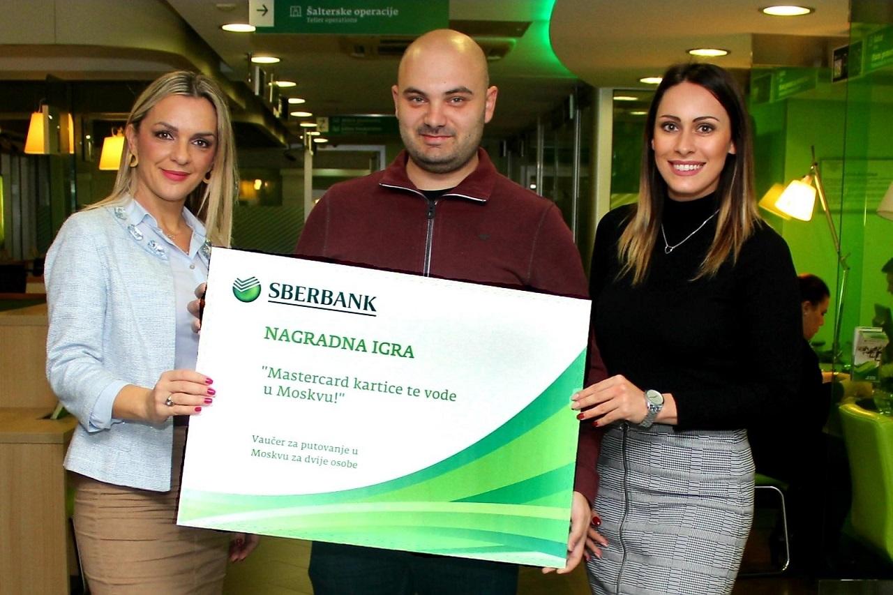 Nemanja Šućur osvojio putovanje u Moskvu u nagradnoj igri Sberbanke