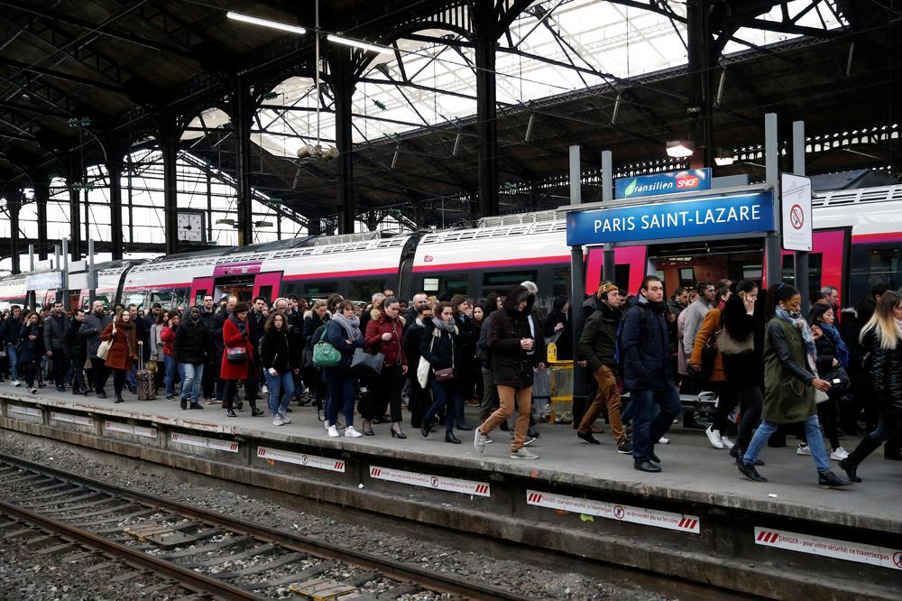 štrajk francuska