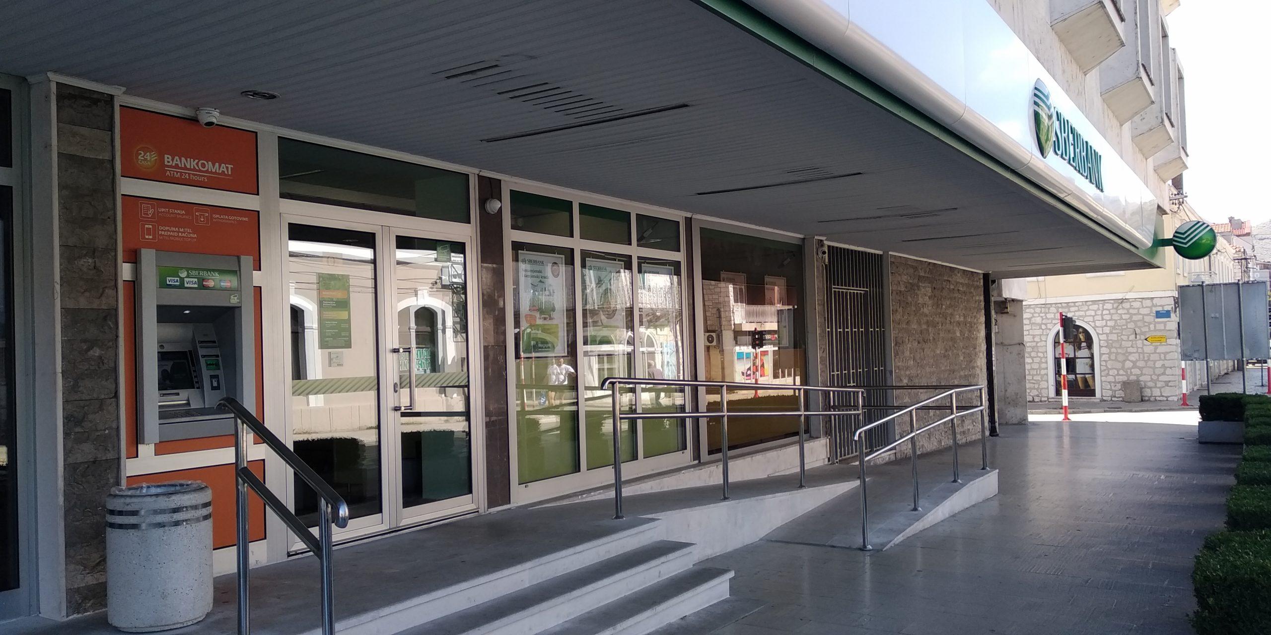 Poslovnica Sberbank-e u Trebinju neometano i bezbjedno nastavlja sa radom