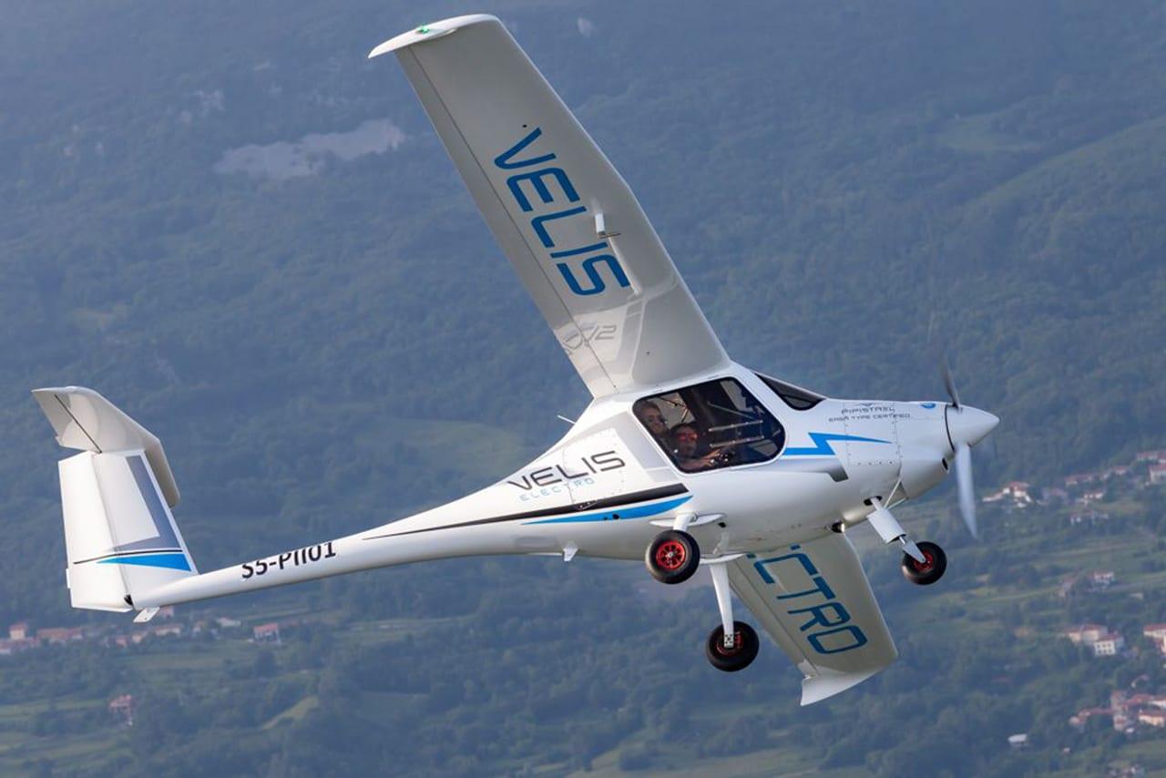prvi električni avion na svijetu
