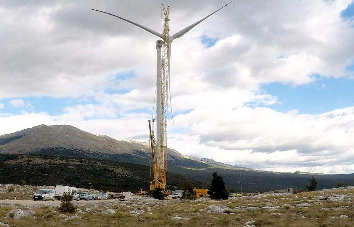 vjetroelektrane na Vlašiću